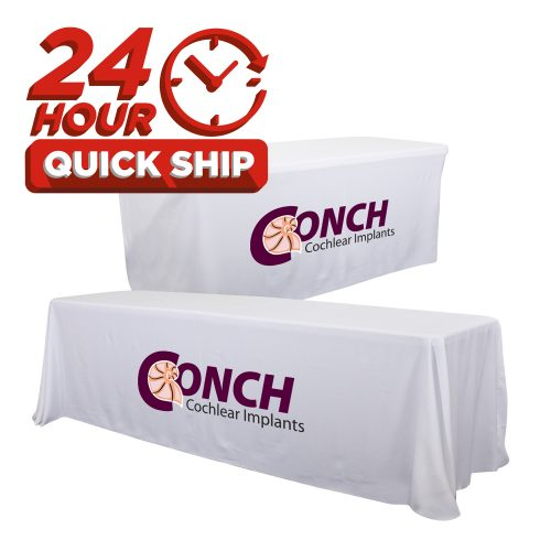 24-Hour Quick Ship Table Throws