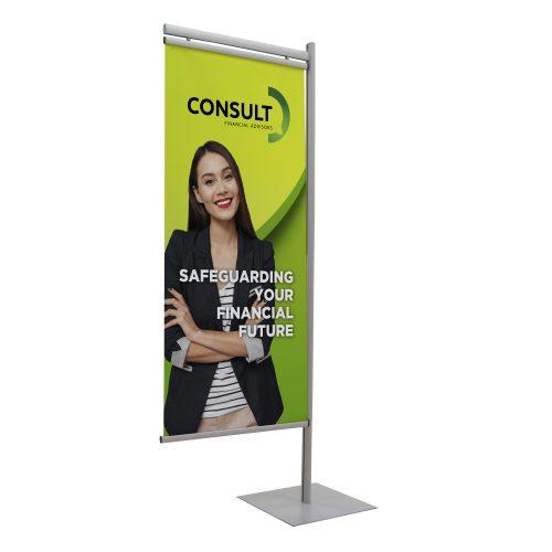 Side Snap Banner Display