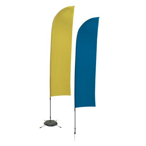 Solid-Color Sail Sign